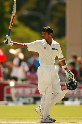 Rahul, the Wall, Dravid
