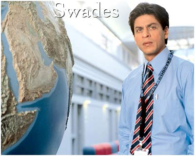 A still from the film <I>Swades</I>.