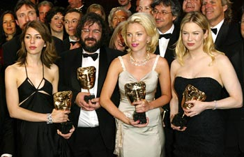 Seen here are Sofia Coppola, Peter Jackson, Scarlett Johansson and