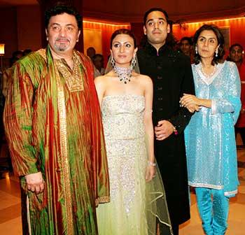 Rishi Kapoor's daughter weds   186214   Bollywood News ...