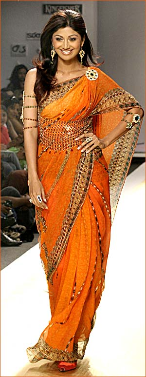 shilpa shetty in saree. shilpa shetty saree
