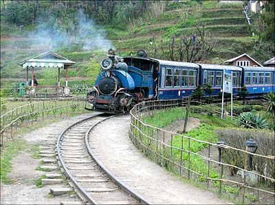 Darjeeling Toy Train.