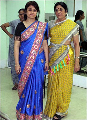 Rediff Saree Draping Made Easy