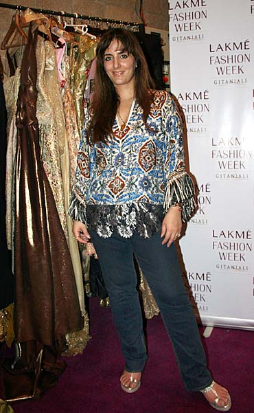 Rediff Com Lfw 08 Designer Pria Kataria Puri On Her Line Fashion Week And Trends For The Year