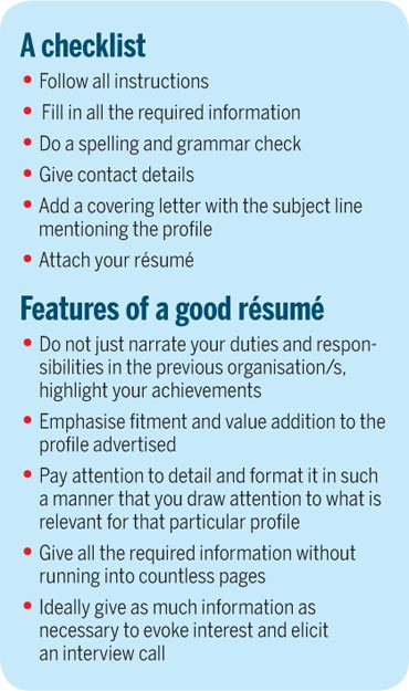 7 sins of job hunting