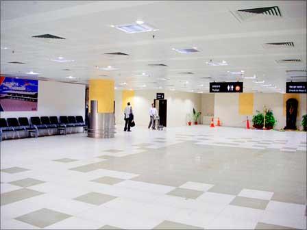 Delhi International Airport .