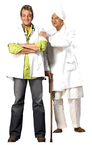 comedy Munnabhai MBBS.
