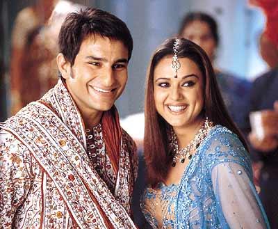 Saif Ali Khan and Preity Zinta in Kal Ho Naa Ho
