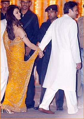 Ness Wadia and Preity Zinta