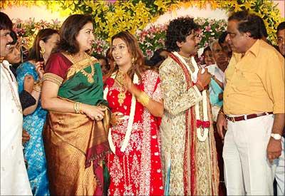 Rediff Com Kannada Film Industry S Big Fat Wedding