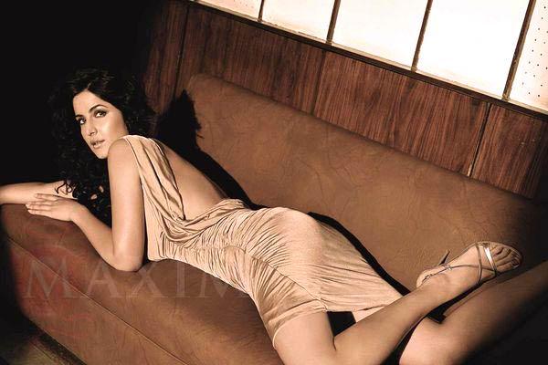 Katrina kaif as Maxim cover girl