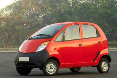 Swipe your card and buy a Tata Nano!